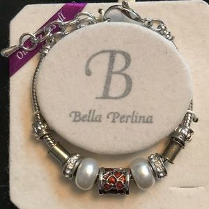 NWT Bella Perlina bracelet with charms